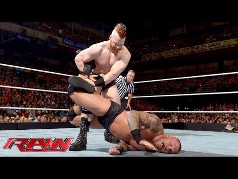 Randy Orton vs. Sheamus: Raw, September 7, 2015