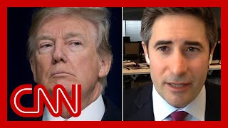 'Tirades of profanity': Axios reporter describes Trump meeting