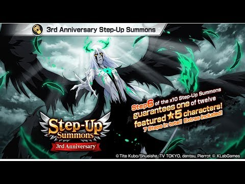 Bleach Brave Souls: Step-UP Summons ! Viajando mas Jogando - Omega Play