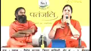 Anandmurti Gurumaa ji & Swami Ramdev Ji at Patanjali Yogpeeth, Haridwar, Date- March 10,2016