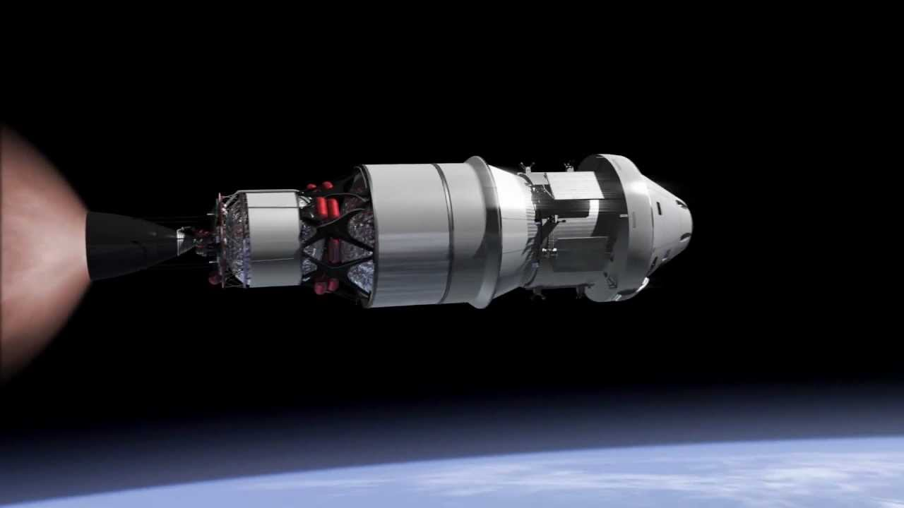 Nasa Exploration Mission 1 Em 1 With Orion Spacecraft