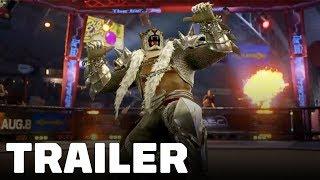 Tekken 7 - Armor King Trailer (with Julia Teaser)