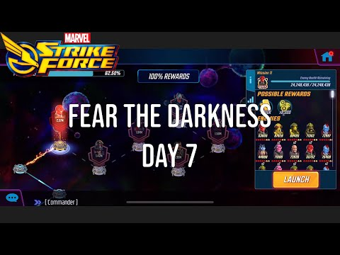 Fear the Darkness - Dark Dimension - Day 7 - Marvel Strike Force