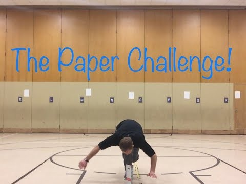 The Paper Challenge!