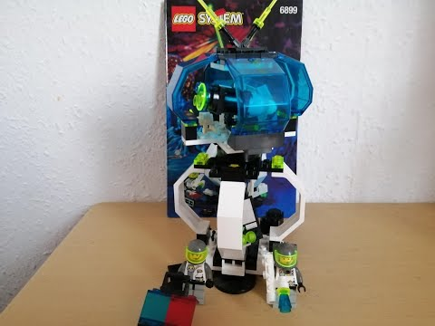Heti videó: 15# Lego Space - 6899 Nebula Outpost