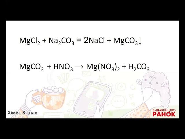 """8 клас. Хімія. Урок узагальнення знань на тему """"Генетичні зв'язки між класами неорганічних сполук"""""""