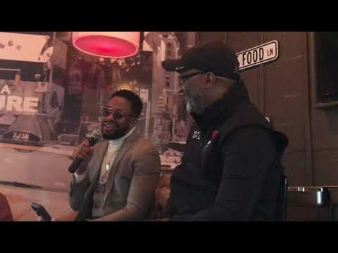 BJ the DJ - Interview w/Raheem DeVaughn