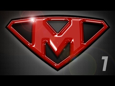 Photoshop Tutorial: Part 1 - Create a Powerful, Custom, SuperHero Emblem Logo