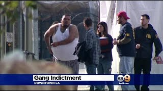 East LA Gang Members With Ties To Mexican Mafia Indicted On Federal Racketeering Charges