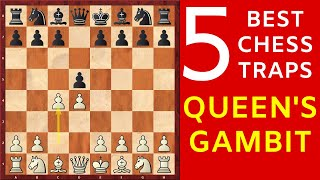 5 Best Chess Opening Traps in the Queen's Gambit