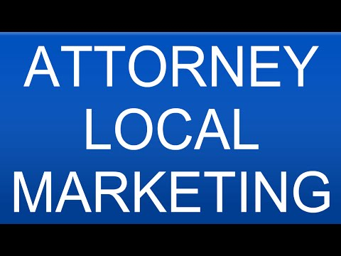 Attorney Local Marketing