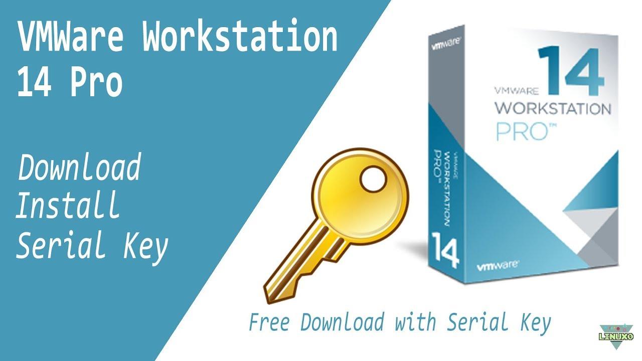 Upgrade VMware Workstation 14 Pro with Universal License Key