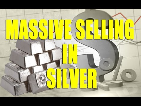 MASSIVE SELLING IN SILVER - HARRY DENT RIGHT - I MISSED THIS