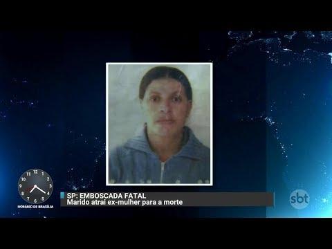 Homem é suspeito de armar emboscada e matar ex-mulher na Grande SP | Primeiro Impacto (06/10/17)