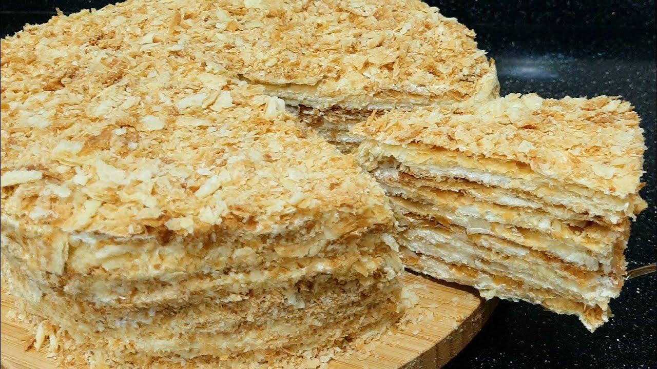 Napoleon tortu. Торт Наполеон