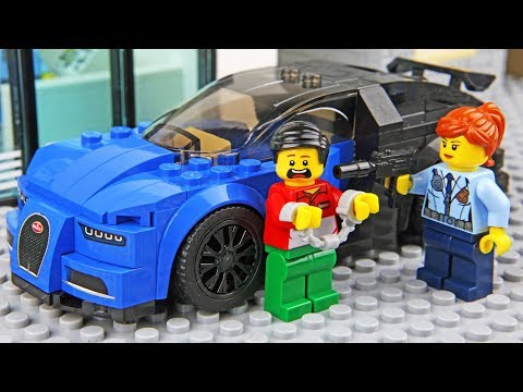 Lego Car Robbery - Invisible Man 2
