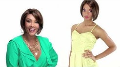 Zoe by Vivica Fox   Short Lace Front Wig for African Americans   360˚ Review