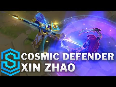 Cosmic Defender Xin Zhao Skin Spotlight - League of Legends