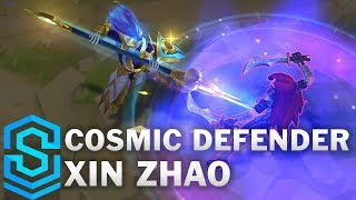 Cosmic Defender Xin Zhao Skin Spotlight - League of Legends