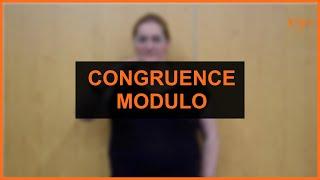 Mathématique - Congruence Modulo (2 signes)