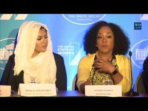 MG@ The United State Of Women Summit (Panel Session)