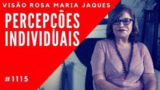 COMO CONDUZIR PERCEPÇÕES INDIVIDUAIS - Visão Rosa Maria Jaques #1115