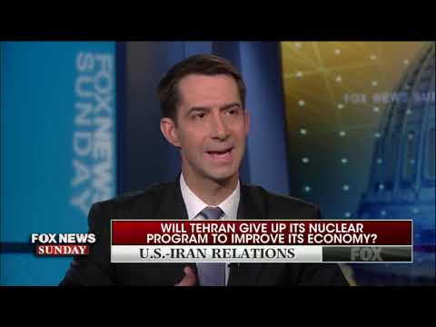 "Tom Cotton: Without ""Firm"" Response To Drone Shootdown, Iran Will Continue To Escalate"