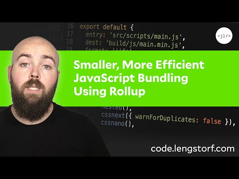 How to Set Up Smaller, More Efficient JavaScript Bundling Using Rollup