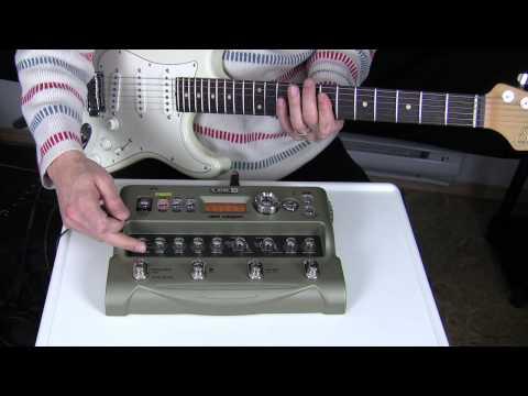 Line 6 JM4 looper pedal demo