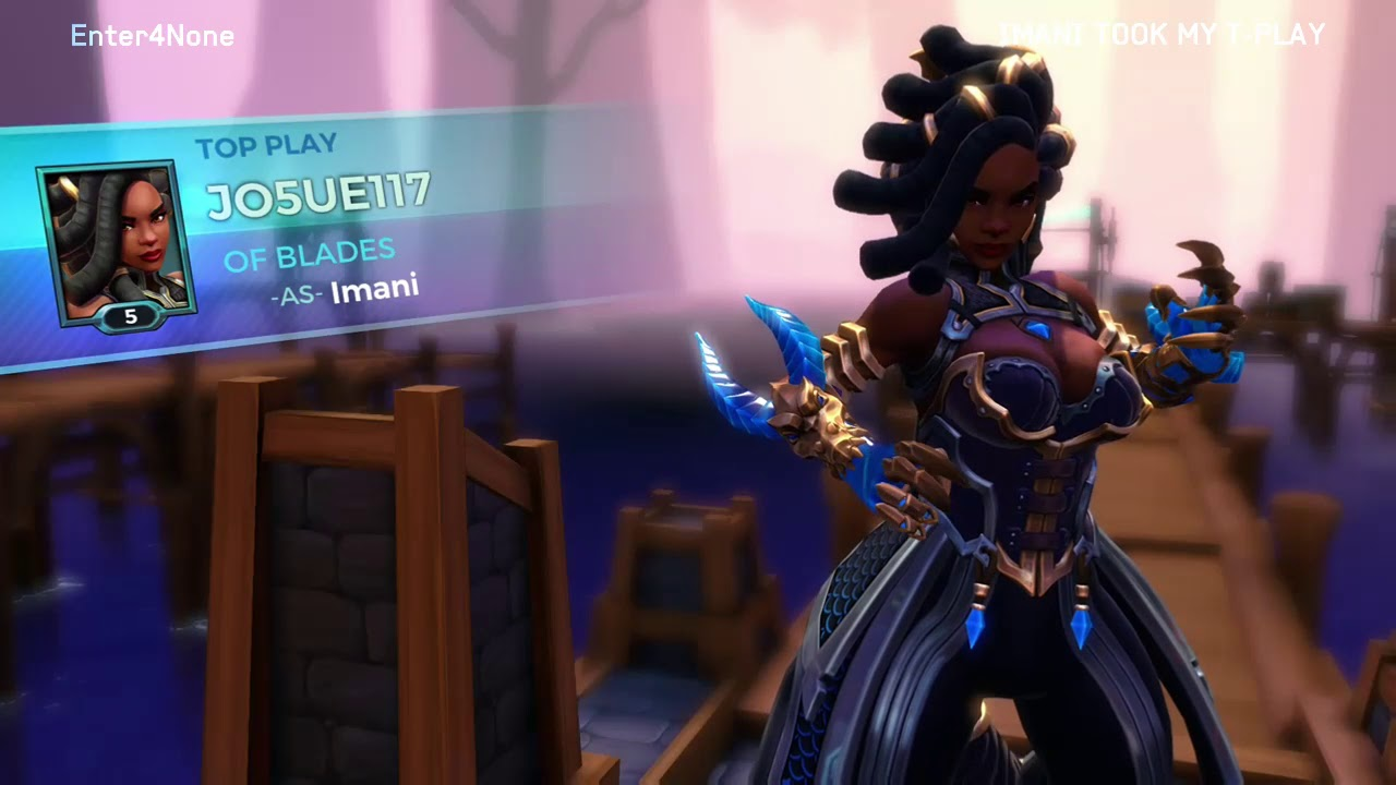 Imani snatched my Top Play 😲 (glitch) - Paladins - Quickplay