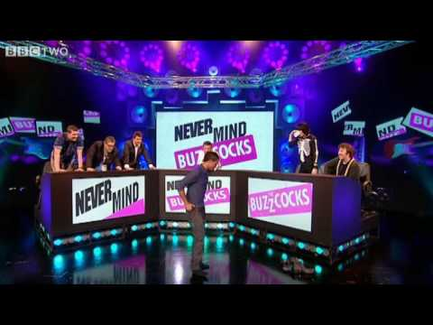 JLS Aston Merrygold does a backflip - Preview - Never Mind The Buzzcocks - BBC Two