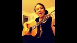 """""""I wonder""""-Kanye West acoustic cover by Jess Jimenez"""