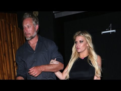 Jessica Simpson Stuns In A Tight Black Dress On Date Night With Husband Eric Johnson