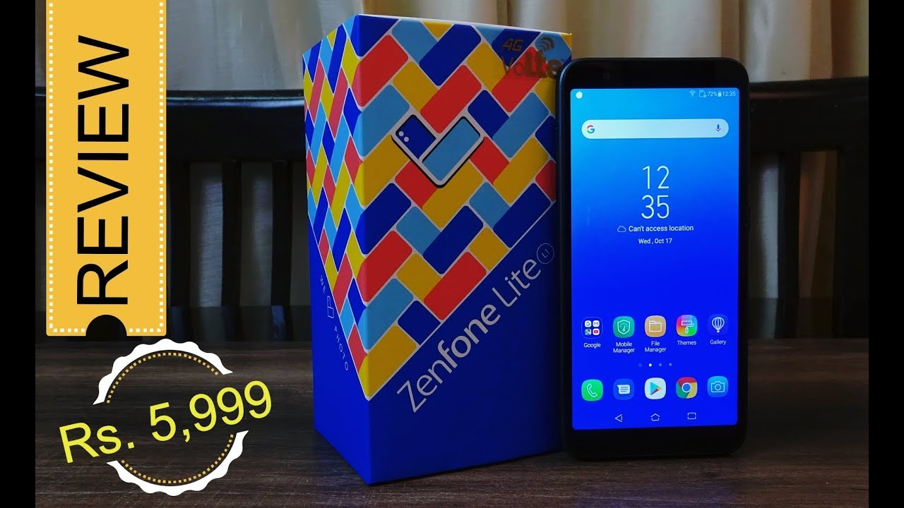 hot sale online 6f047 280d1 Asus Zenfone Lite L1 review – pubg gameplay, camera sample – nice price Rs.  5,999