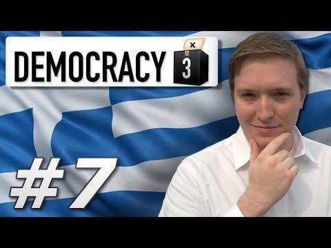 Democracy 3 | Max Difficulty Greece – Year 7