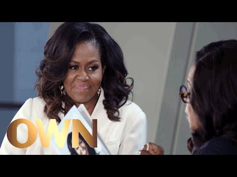 Why Reluctant Michelle Obama Agreed to Let Barack Obama Run for President | Oprah's Book Club | OWN
