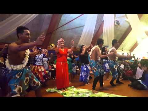 Benteuea & Eriu Wedding 2015- Tuvaluan Dance