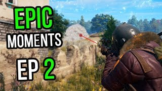 PUBG: Epic & Lucky Moments Ep. 2
