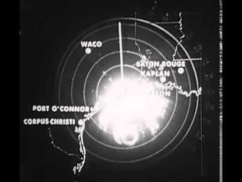 Hurricane Carla Radar 1961