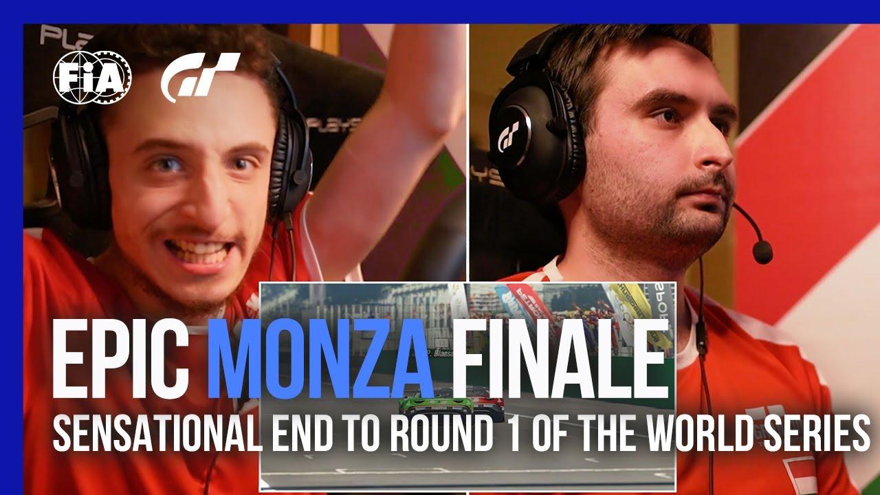 Epic Monza Final Lap Battle | Gran Turismo Sport 2021 World Series