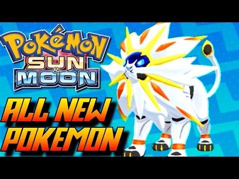Pokémon Sun and Moon - ALL New Pokémon and Alola Forms!