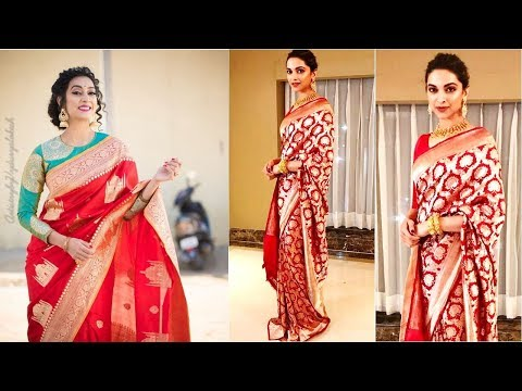Banarasi Party Wear Saree Designs 2019 | Indian Saree Designs 2019