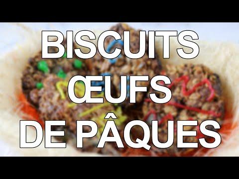 biscuits-œufs-de-pâques-façon-granola-cookies
