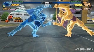 Fusion Nuova shenron and Eis Shenron VS Goku, Pan & Majuub (Dragon Ball Z Budokai Tenkaichi 3 mod)