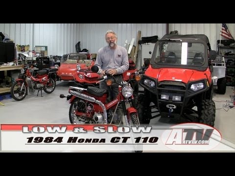 ATV Television  Low & Slow Trail Explorers Special  1984 Honda CT 110
