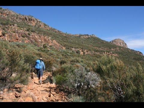 Exploring the Flinders Ranges by foot