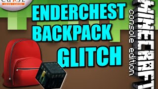 Minecraft PS4 - ENERCHEST BACKPACK GLITCH - How To - Tutorial ( PS3 / XBOX )