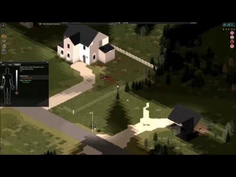 Project Zomboid Clearing My Neighbourhood Gameplay. HerculezGaming