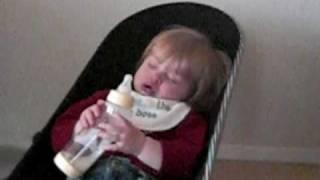 Zoe slaapt bijna   11,5 maanden