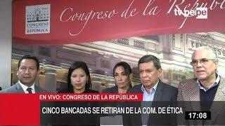 Comisión de Ética: disidentes piden su recomposición